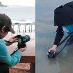$ 5,750 vs $ 500 Equipo de cámara, profesional vs aficionado