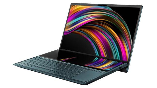 laptops para edición de fotos: Asus ZenBook Duo UX581