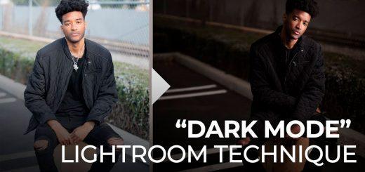 modo oscuro con lr técnica