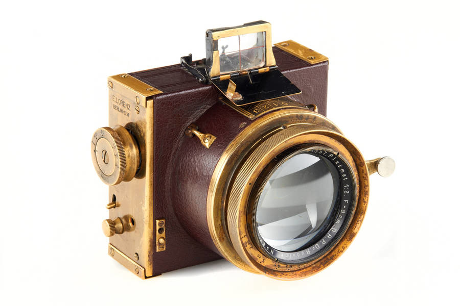 E. Lorenz Berlín Clarissa Luxus Nacht Kamera