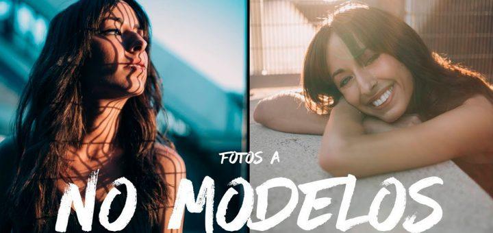 Fotografiar no modelos