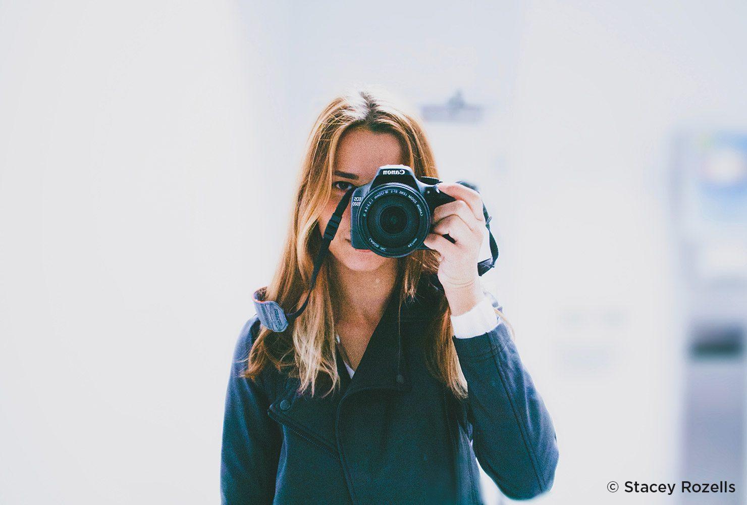 Proyectos de fotografía creativa para aplicar : autoretratos