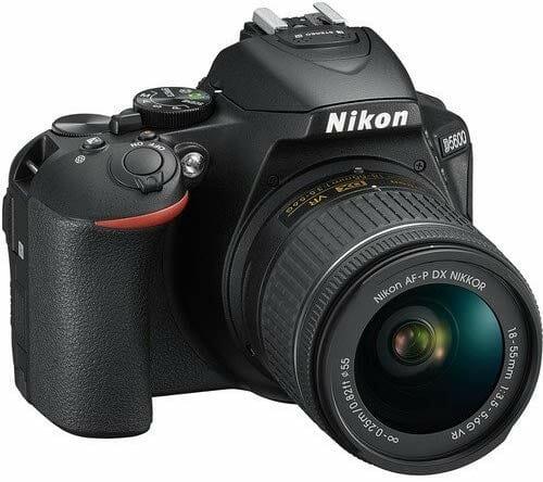Mejores cámaras DSLR:  Nikon D5600