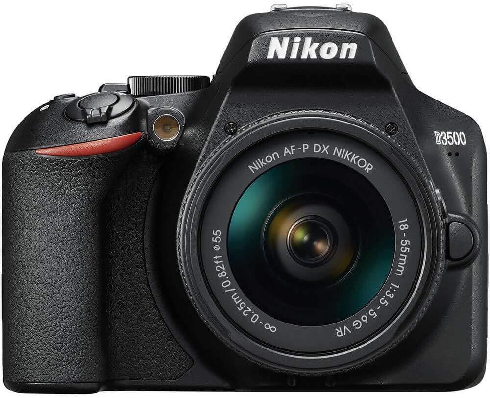 Mejores cámaras DSLR:  Nikon D3500