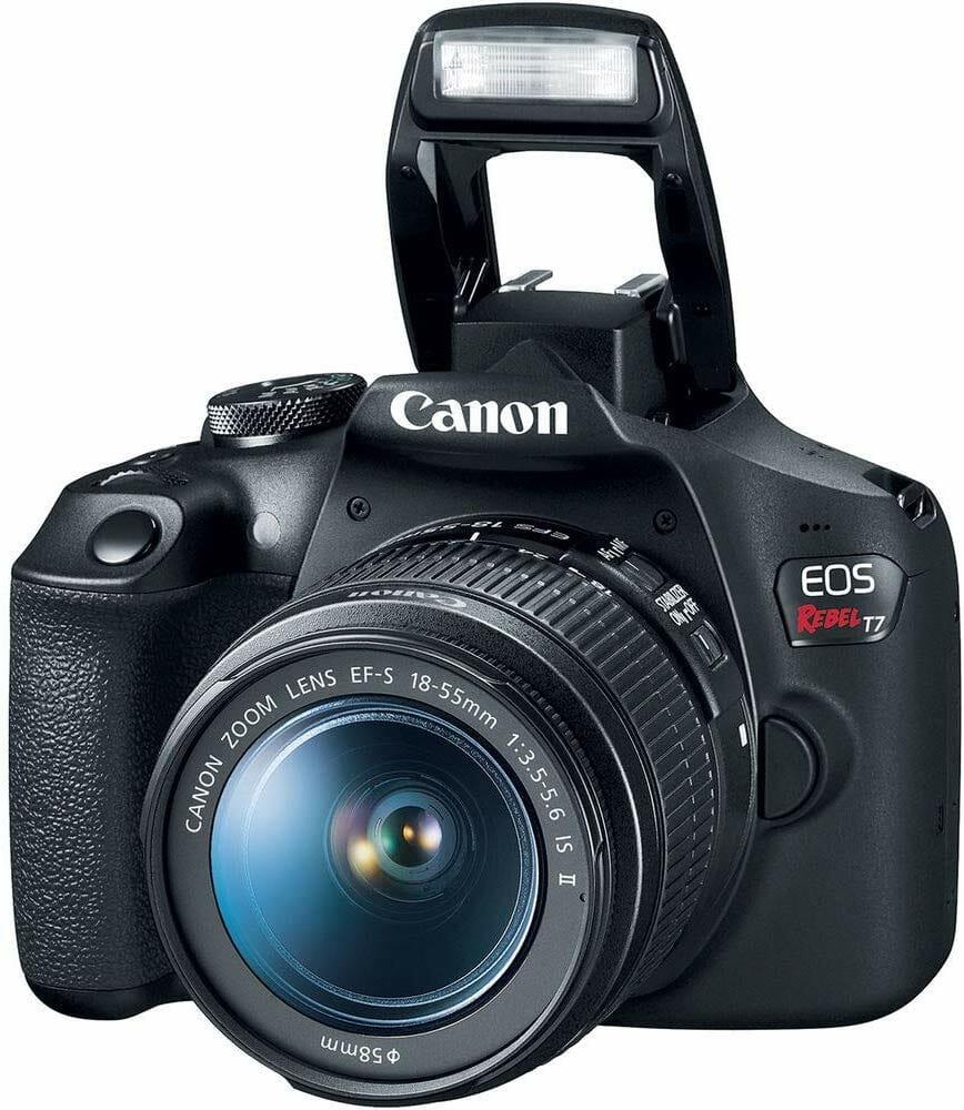 Mejores cámaras DSLR:  Canon EOS Rebel T7