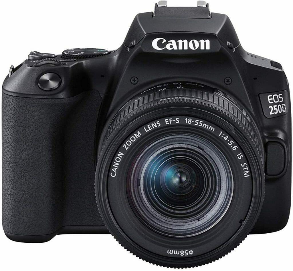Mejores cámaras DSLR:  Canon EOS Rebel SL3 / 250D