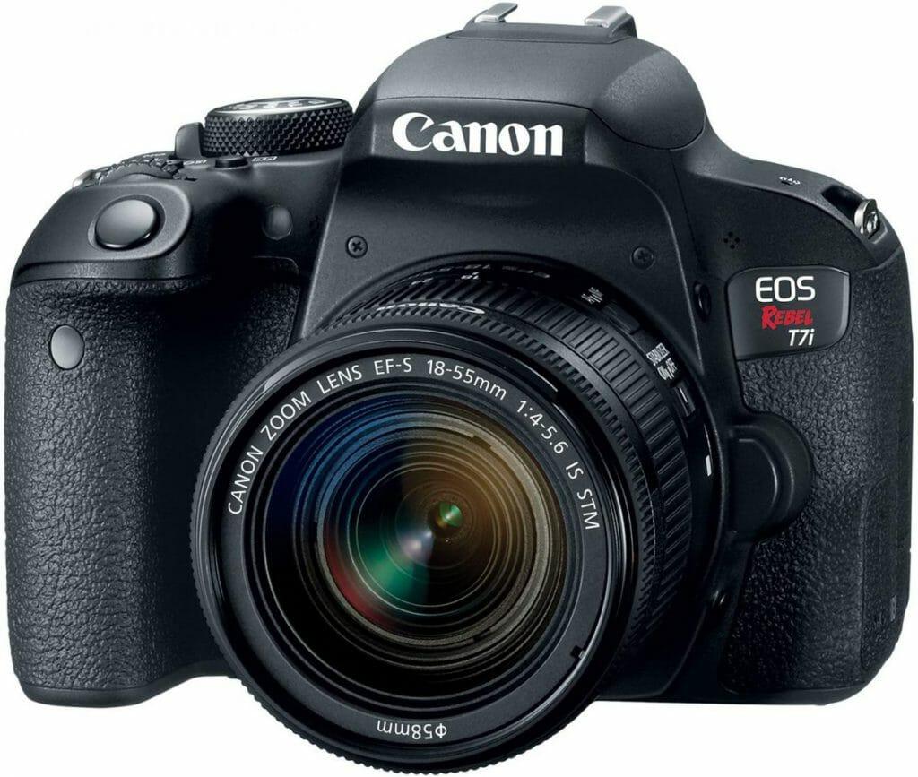 Mejores cámaras DSLR:  Canon EOS Rebel T7i