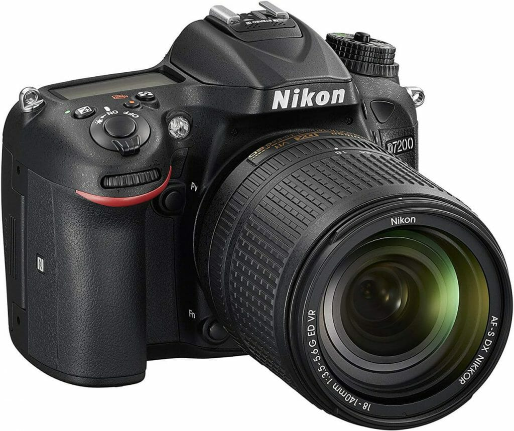 Mejores cámaras DSLR:  Nikon D7200