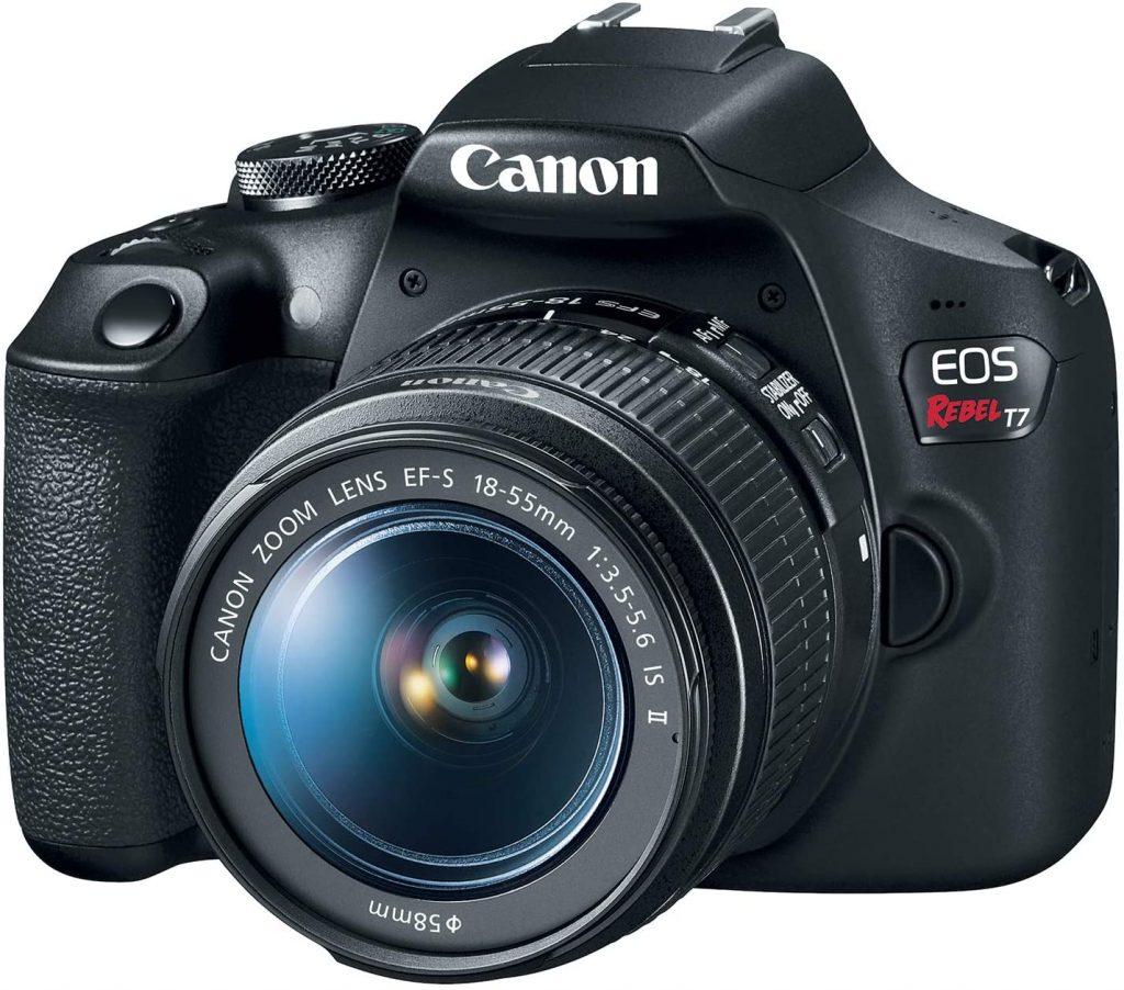Los mejores cámaras DSLR: Canon EOS Rebel T7