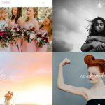 26 ejemplos de portafolios de fotografía para tu inspiración