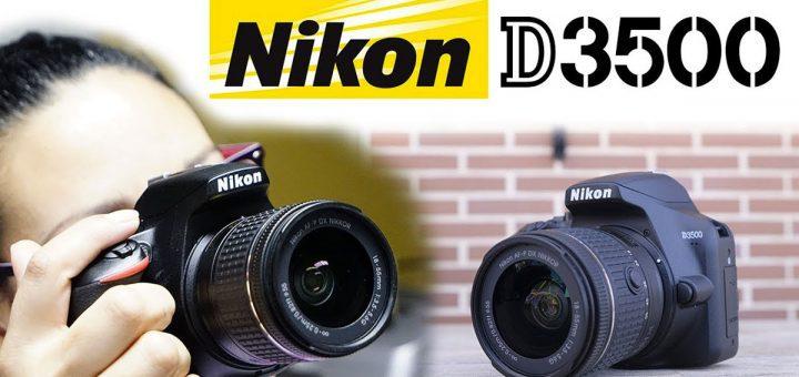 Nikon d3500 para iniciar como profesional