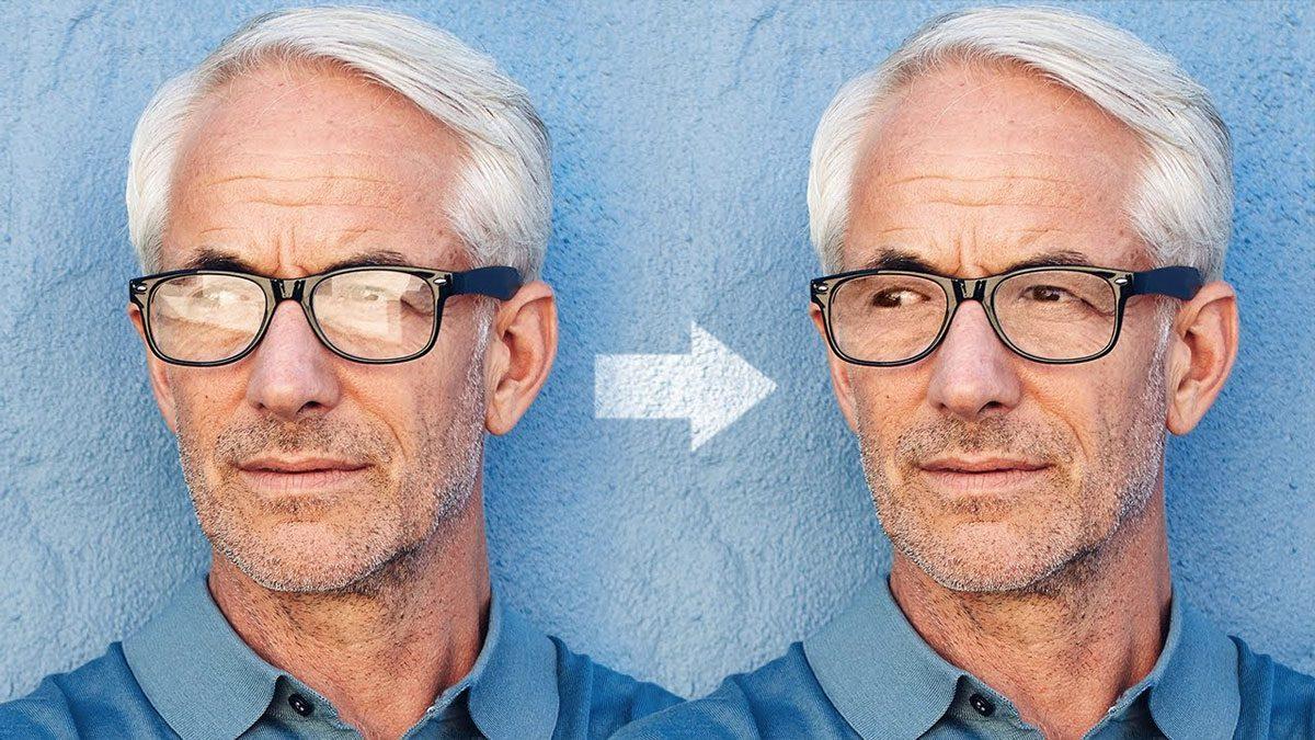 Aprende a Quitar el brillo de los lentes