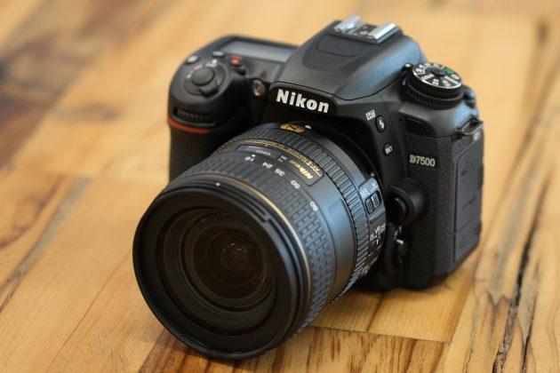 Las mejores cámaras DSLR: Nikon d7500