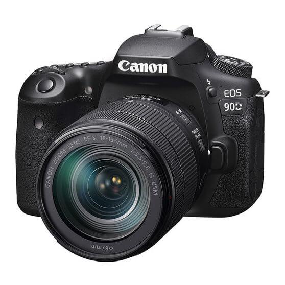 Las mejores cámaras DSLR: CAnon oeos 90d