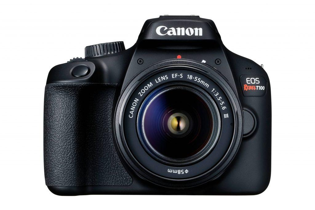 Los mejores cámaras DSLR: Canon revel t100