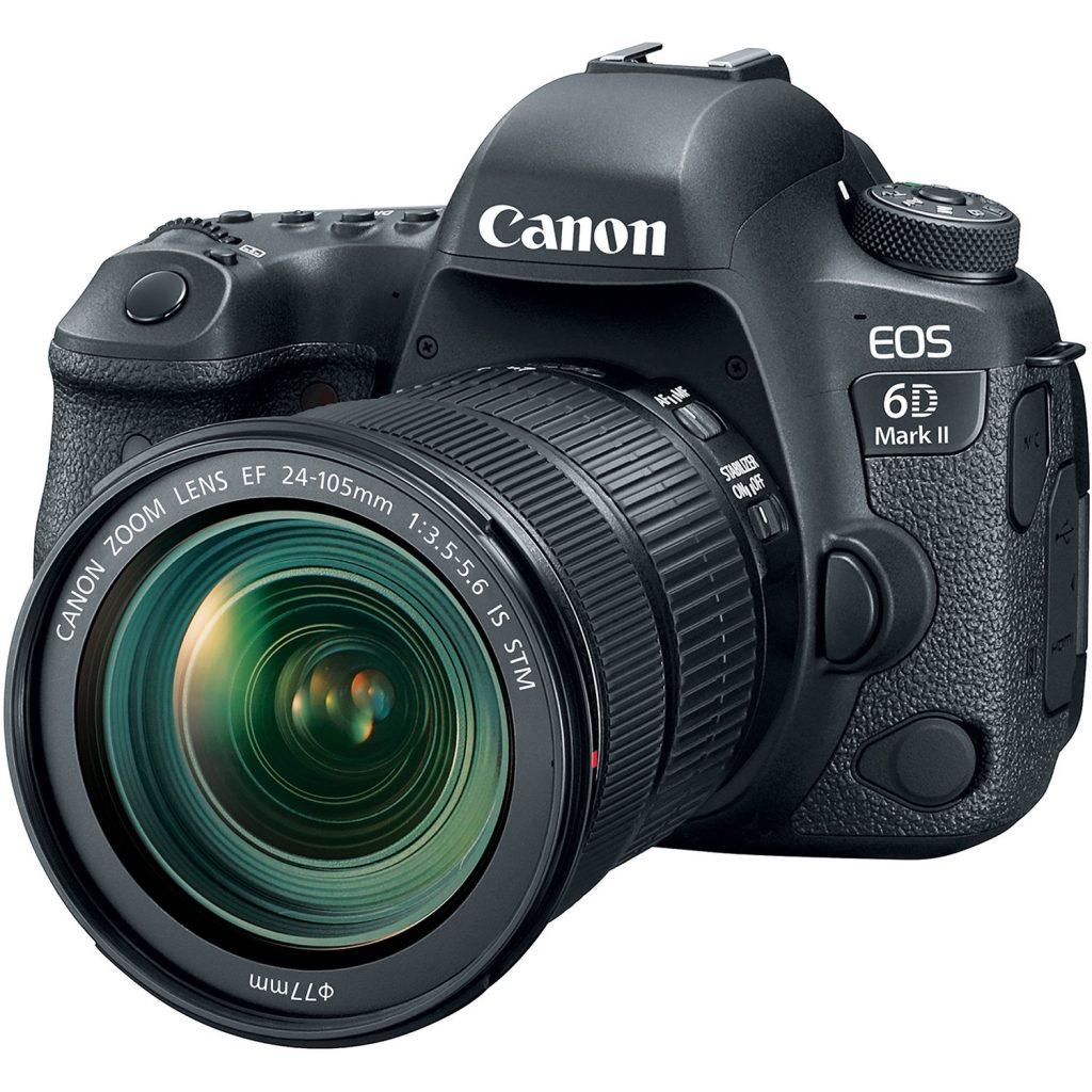Las mejores cámaras DSLR: Canon oeos 6d
