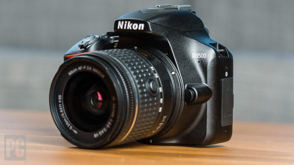 Los mejores cámaras DSLR: Nikon d3500