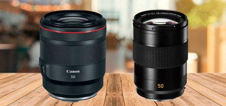 Lente Leica vs Canon