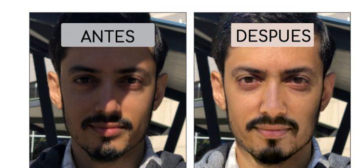 Quitar sombra en una imagen con AI