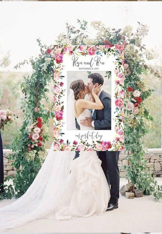 Ideas para fotografías de bodas: cuadro