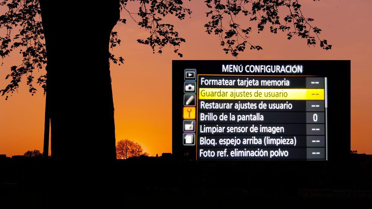 Configuraciones para cámara en la noche