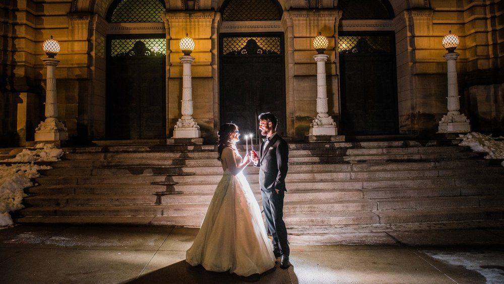 Ideas para fotografías de bodas: divertida