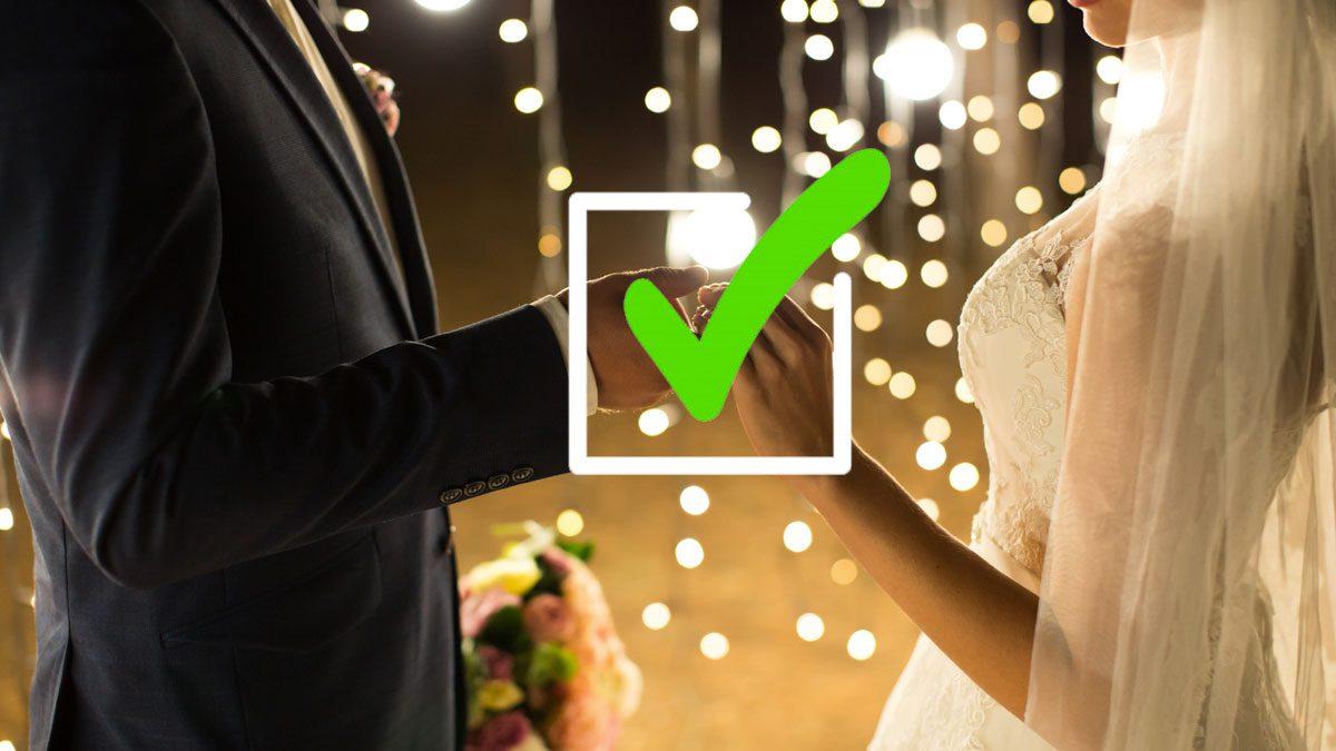 lista de tomas para bodas