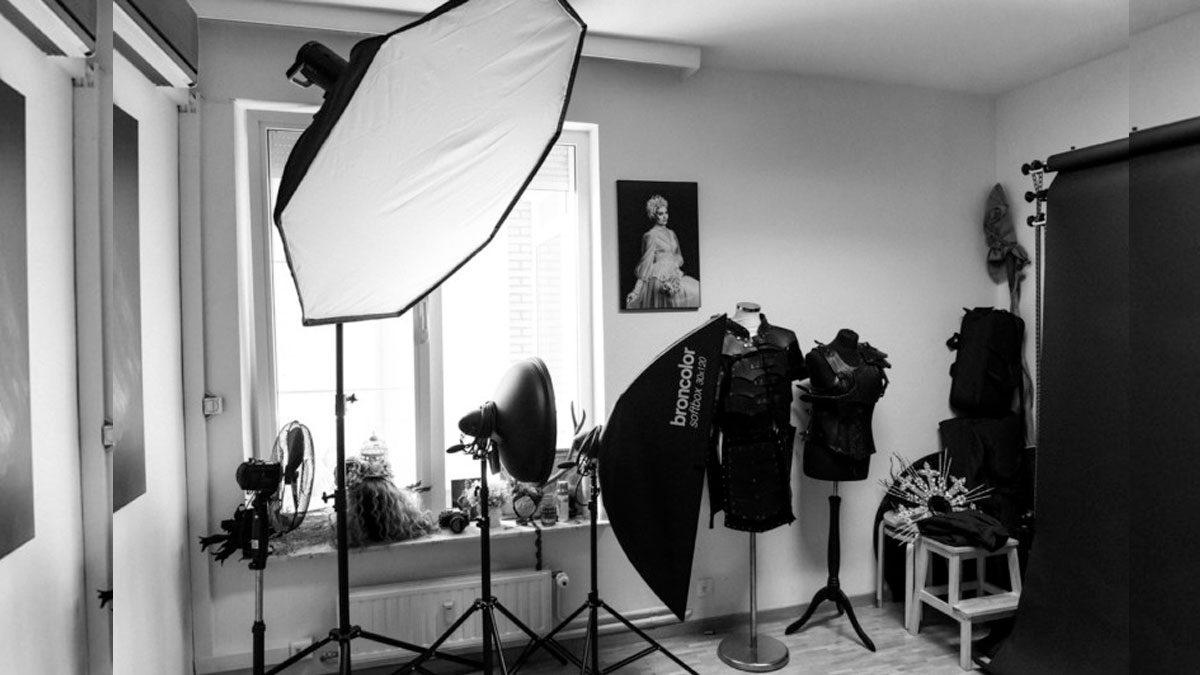 Dentro de mi estudio de fotografía profesional
