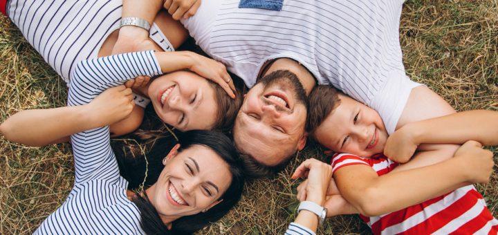 Poses e ideas de fotos familiares