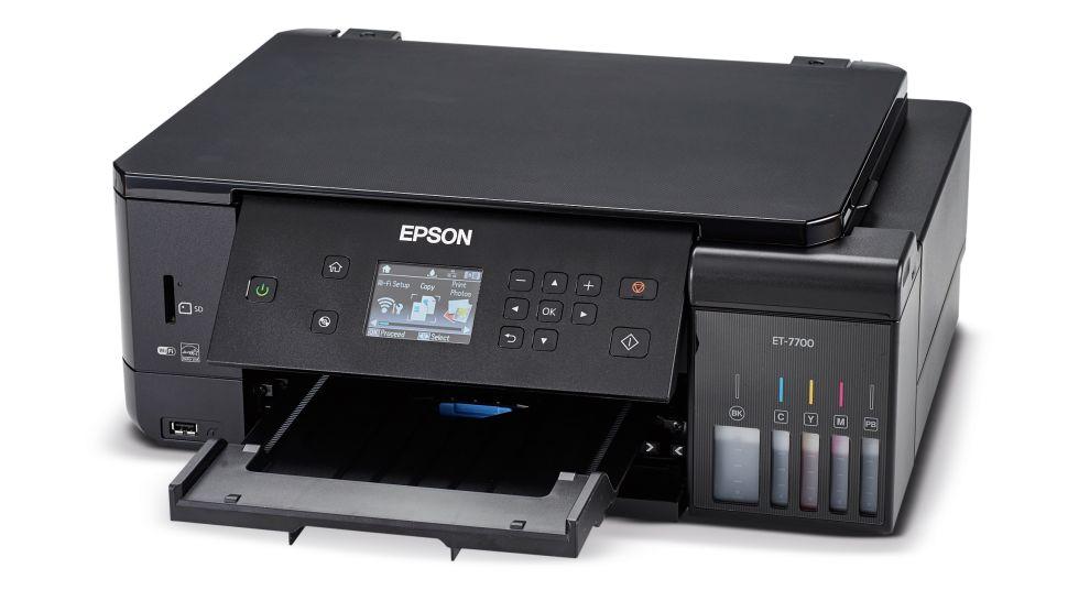 Las mejores impresoras fotográficas: Epson EcoTank ET-7700