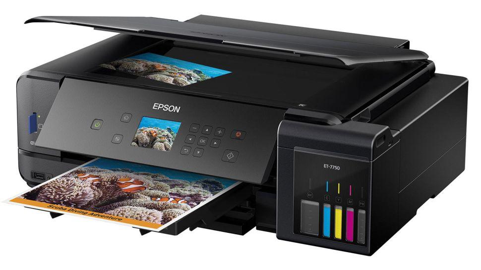 Las mejores impresoras fotográficas: Epson ET-7750