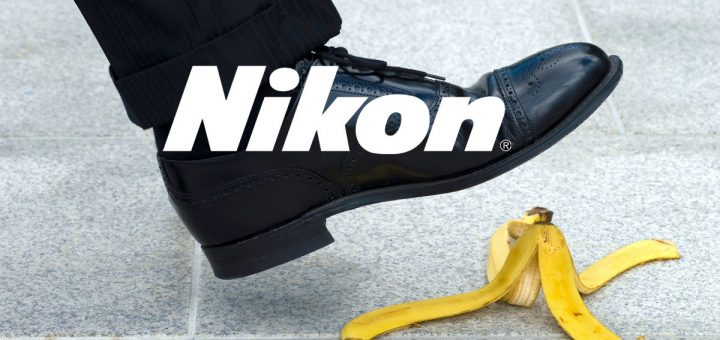 Nikon Se desploma en ventas