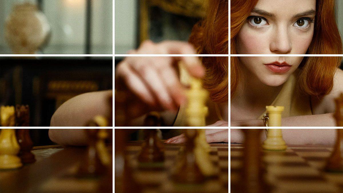 tecnicas de composicion usadas en queens Gambit