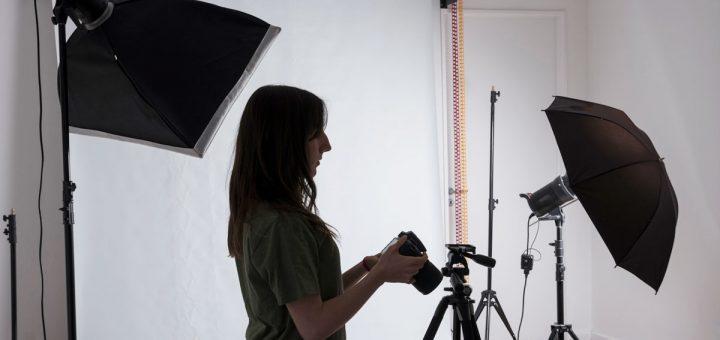 Iluminación barata para sesión de fotos