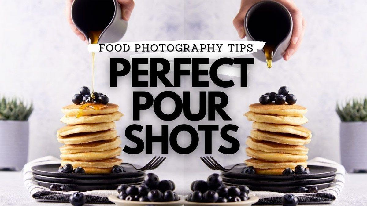 acción a fotos de comida