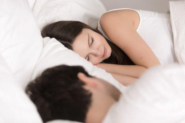 Fotos de parejas durmiendo