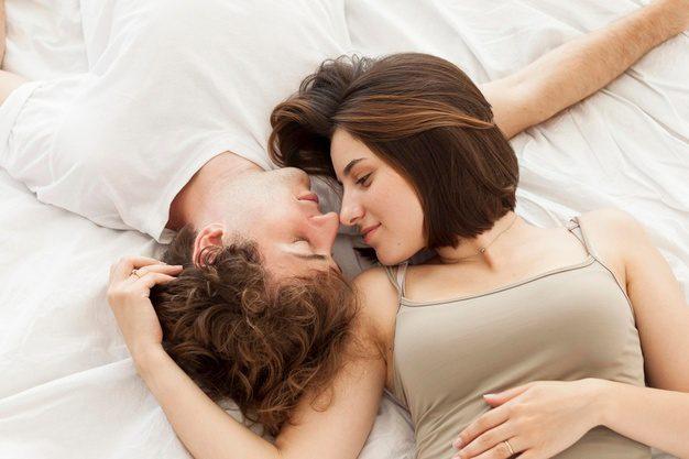 Fotos de enamorados descanzando