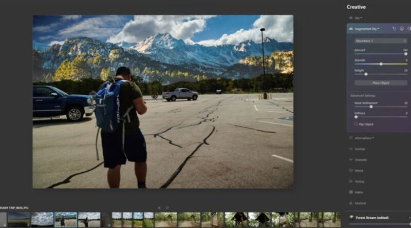 Software de Edición de fotos